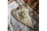 Romantyczne serce Vintage 1