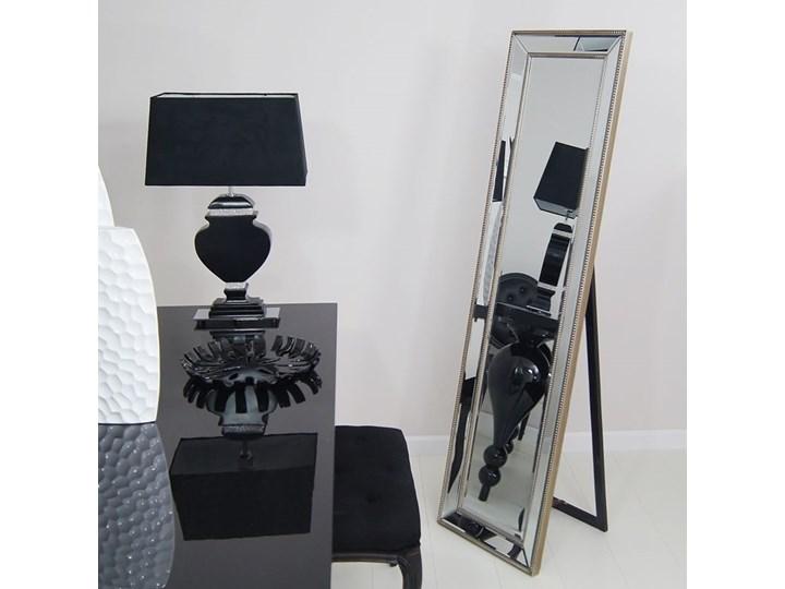 Styl Nowoczesny Lustro stojące w lustrzanej ramie, szlifowane fazą. Lustra do garderoby