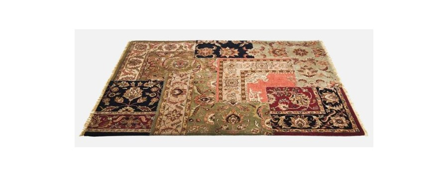 Dywan Persian Patchwork Kare Design 33231 Dywany Zdj Cia Pomys Y Inspiracje Homebook
