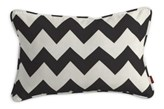 Dekoria Poszewka Gabi na poduszkę prostokątna, czarno-białe zygzaki, 60 x 40 cm, Comics