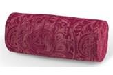 Dekoria Wałek prosty, bordowe wzory, Ø 16 x 40 cm, Mirella