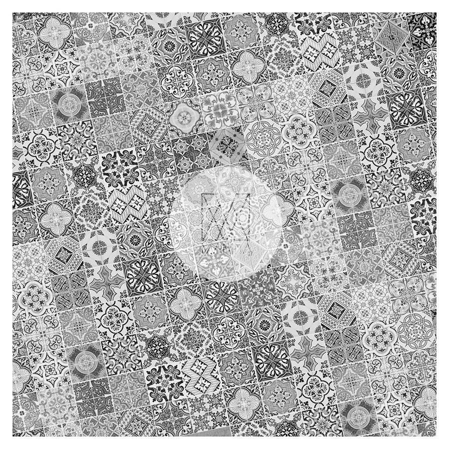 Fototapeta Do Kuchni 18 Mozaika Kafle Kafelki Ceramika Hiszpańska 100x100 Cm