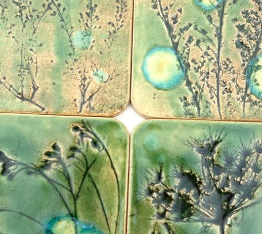 Dekory Zielona Łąka, kafle ceramiczne  Płytki  zdjęcia