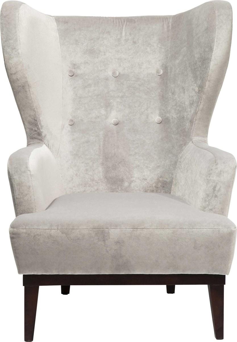 Kare design fotel charly grau fotele zdj cia pomys y inspiracje homebook Kare fotel