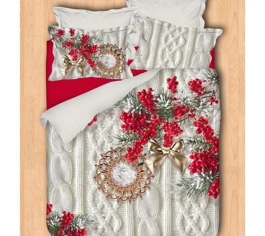 Pościel świąteczna 3d 200x220 Cm Komplety Pościeli Zdjęcia