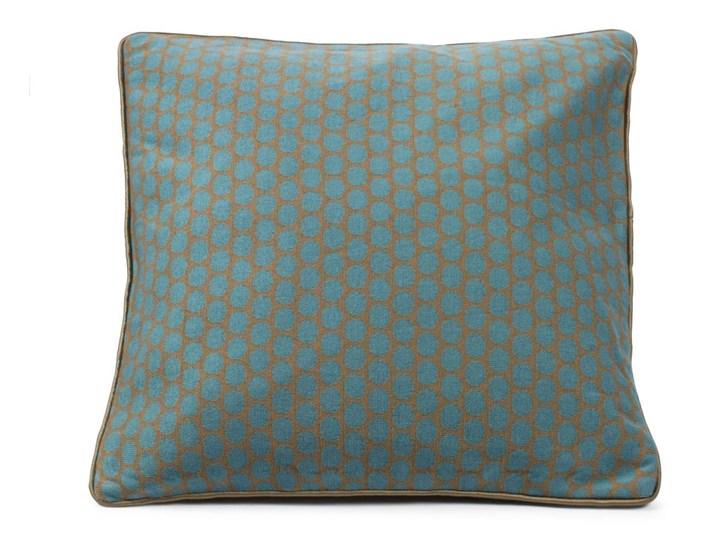 Poduszka Big Dots Khaki Niebieska 50x50 Cm Poduszki