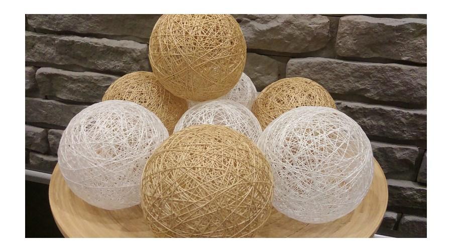 cotton balls kule dekoracyjne o wietlenie. Black Bedroom Furniture Sets. Home Design Ideas