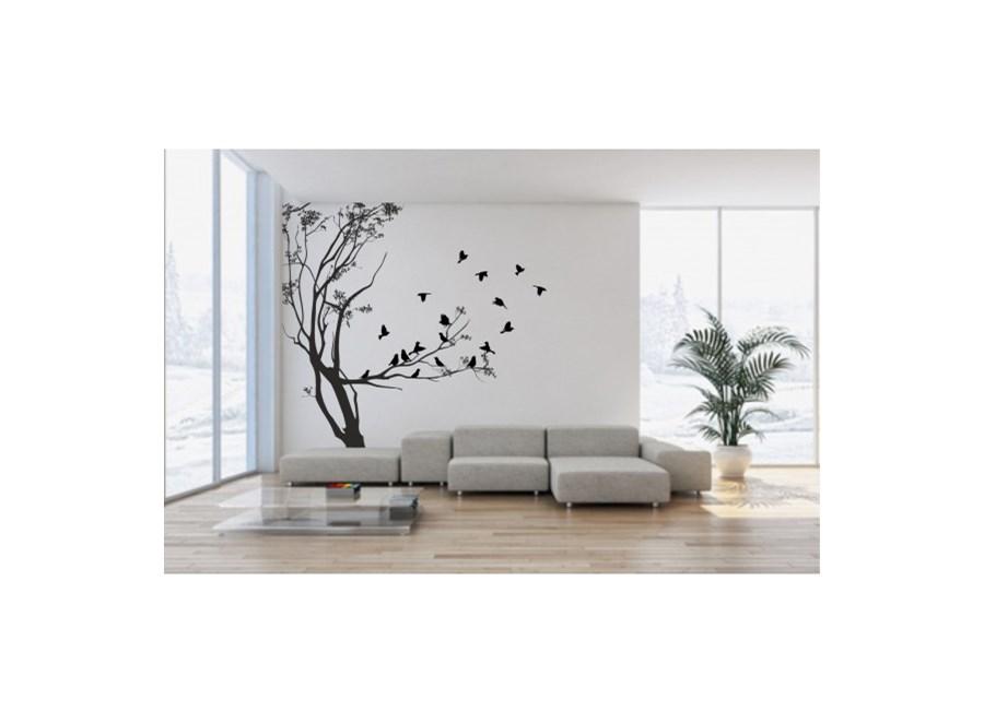 naklejka na ścianę drzewa motyw 91 naklejki zdjęcia