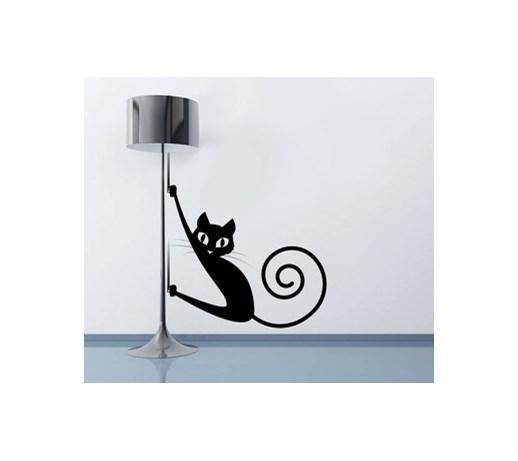 Naklejka Dekoracyjna Na ścianę Kot Naklejki Zdjęcia Pomysły