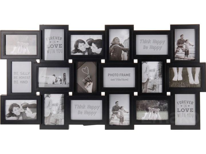 Ramka na zdjęcia, 18 zdjęć - galeria Tworzywo sztuczne Drewno Multiramka