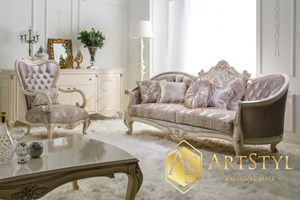 Stylowy zestaw wypoczynkowy acapella zestawy mebli do for Acapella salon plainwell