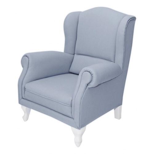 Fotelik mini błękitny
