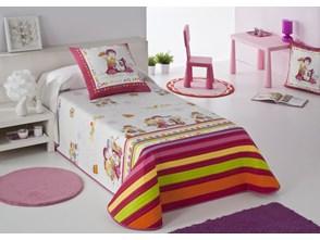 Narzuta dziecięca JVR Tejidos Shopping Fuksja (205x270)