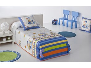 Narzuta dziecięca JVR Tejidos Shopping Blue (205x270)
