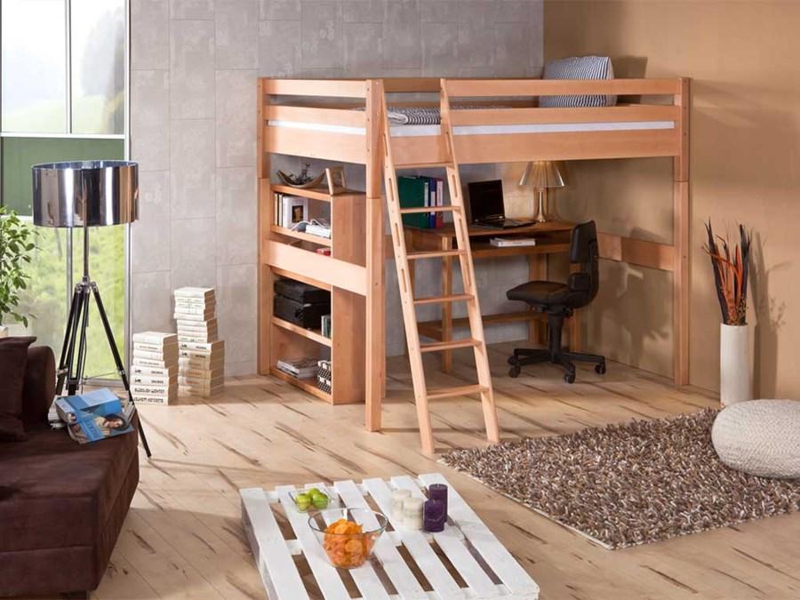 ko bukowe antresola wendy 71 140x200 ka pi trowe zdj cia pomys y inspiracje homebook. Black Bedroom Furniture Sets. Home Design Ideas