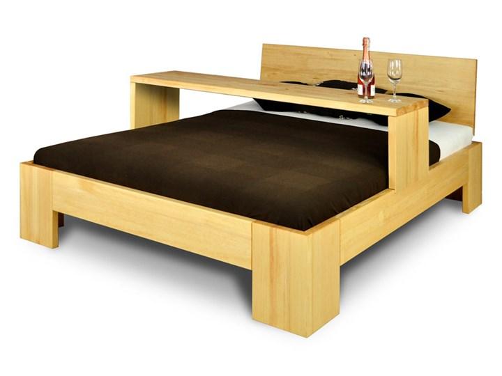 Łóżko Drewniane Sosnowe Marika II - 140 Kolor Beżowy Kategoria Łóżka do sypialni