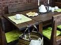 Stół sosnowy woskowany Rustyk 1 Długość 80 cm  Szerokość 90 cm Długość 90 cm  Długość 140 cm  Drewno Wysokość 78 cm Długość 160 cm  Szerokość 80 cm Styl skandynawski