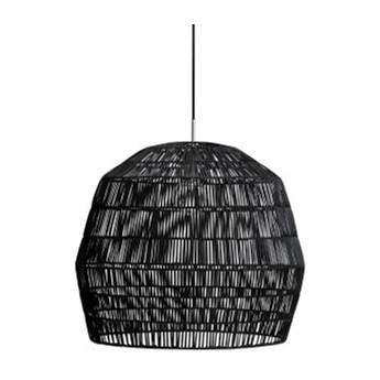 Ay illuminate Nama2 Ø58cm - czarna, rattanowa lampa wisząca