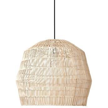 Ay illuminate Nama2 Ø58cm - naturalna, rattanowa lampa wisząca
