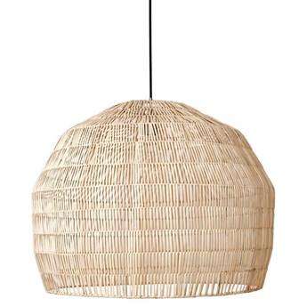 Ay illuminate Nama3 Ø72cm - naturalna, rattanowa lampa wisząca