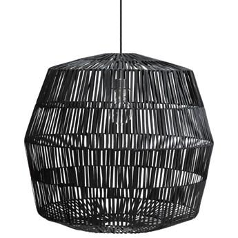 Ay illuminate Nama4 Ø72cm - czarna, rattanowa lampa wisząca