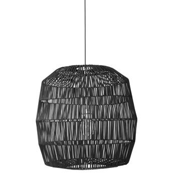 Ay illuminate Nama5 Ø78cm - czarna, rattanowa lampa wisząca