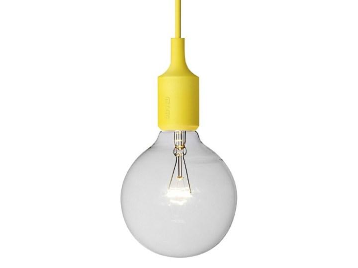 E27 LED Muuto żółta silikonowa lampa sufitowa typu żarówka Tworzywo sztuczne Lampa inspirowana Styl nowoczesny