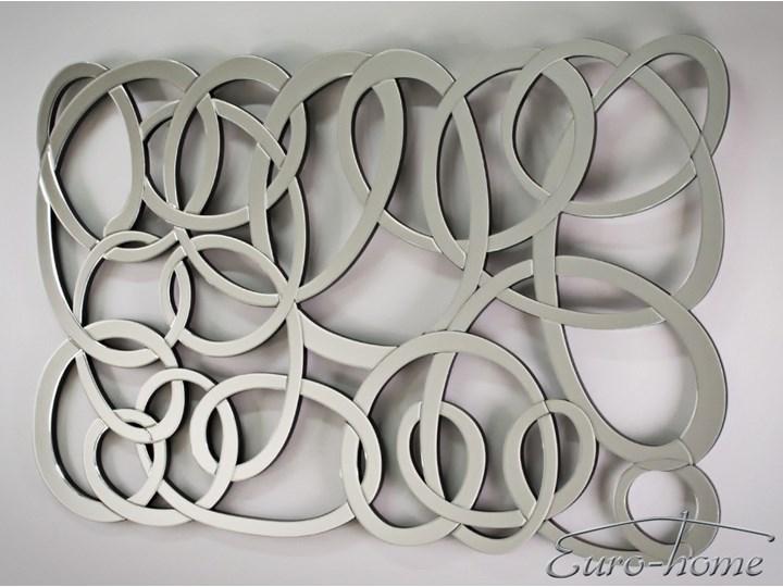 Lustro dekoracyjne 12TM053 80 x 120 cm Lustro bez ramy Nieregularne Ścienne Kolor Srebrny Pomieszczenie Przedpokój
