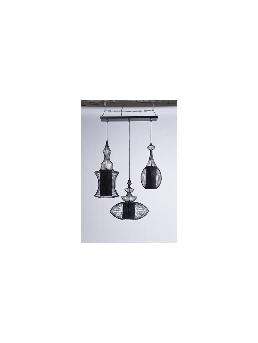 Kare Design Lampa Sufitowa Swing Iron Tre Lampy Wisz Ce Zdj Cia Pomys Y Inspiracje