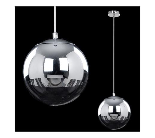 Lampa Wisząca Gino 5801128 Britop Szklana Oprawa Zwis Kula Ball