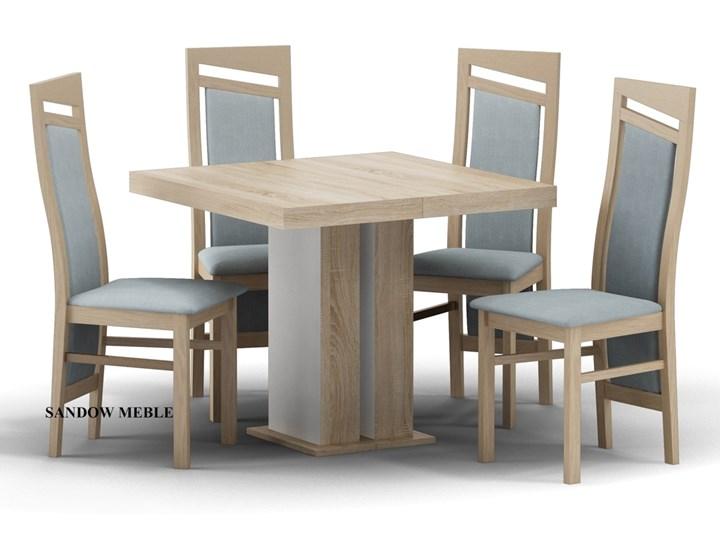 Zestaw Stół Leon 90x90 Do 225 Cm 4 Krzesła Br 202 Stoły Z