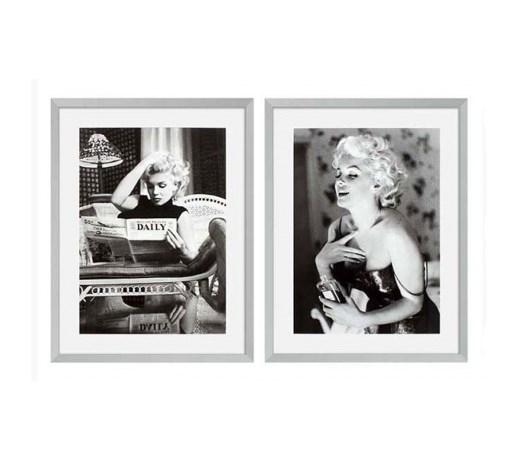 Eichholtz Obraz Marilyn Monroe Set Of 2 Obrazy Zdjęcia Pomysły