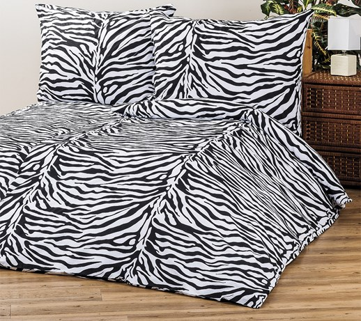 4home po ciel bawe niana zebra 220 x 200 cm 2 szt 70 x. Black Bedroom Furniture Sets. Home Design Ideas
