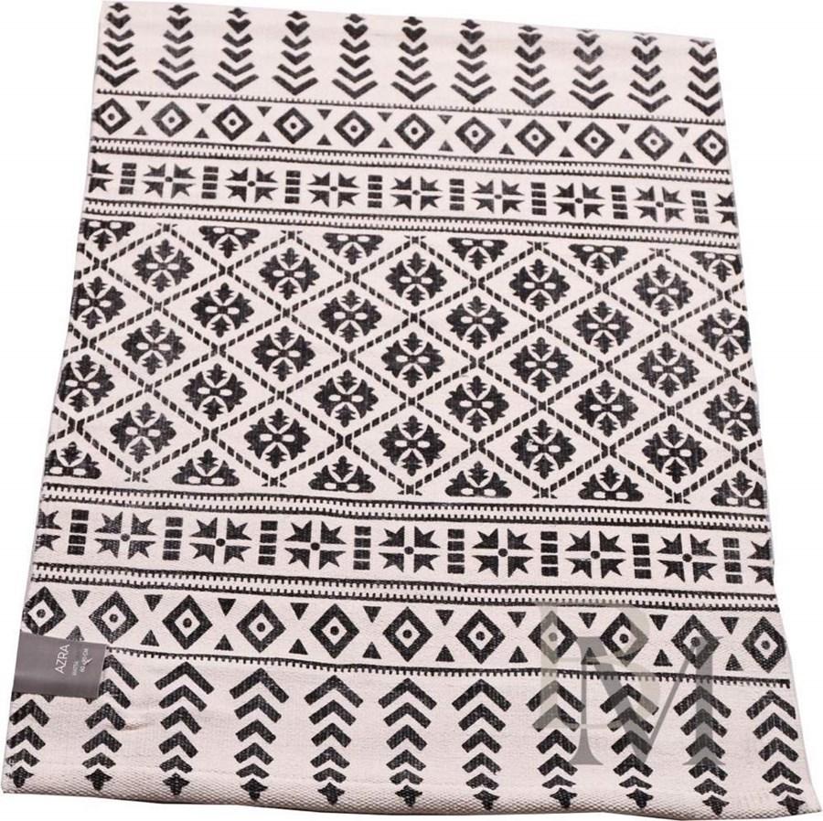 Dywan azara 140x200 biało czarny dywany zdjęcia pomysły inspiracje homebook