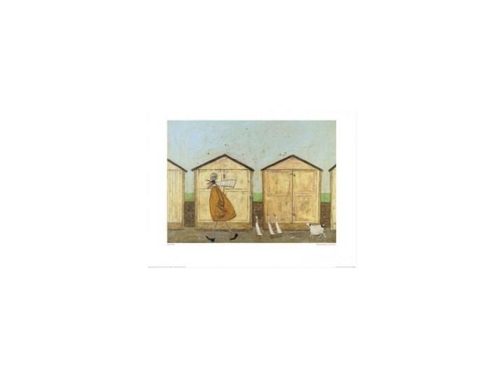 Sam Toft Spacer Z Psem Pan Musztarda Doris Reprodukcja Obraz Obrazek Plakat Z Psem Gąski Plakaty Grafiki Grafika Drewniane Domki