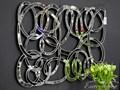Rodzaj ścienne LUSTRO DEKORACYJNE 12TM053 80x120cm Lustra do garderoby