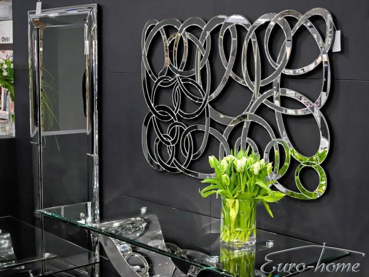 Lustro dekoracyjne 12TM053 80 x 120 cm Pomieszczenie Sypialnia Lustro bez ramy Ścienne Nieregularne Kategoria Lustra