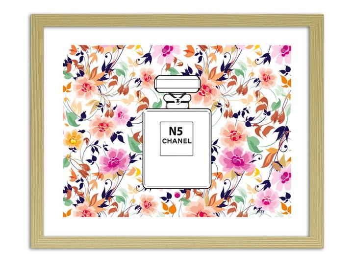 Perfumy Chanel N5 Na Kwiecistym Tle Obrazy W Ramie Obrazy