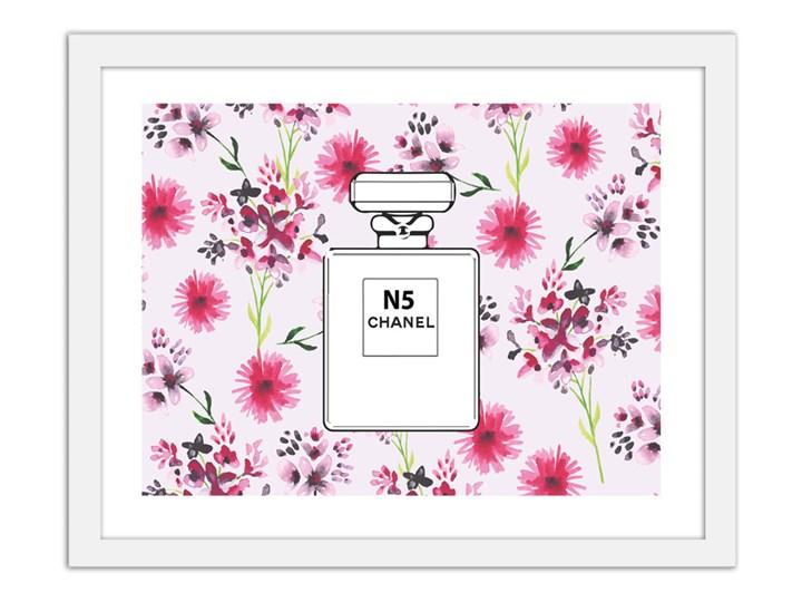 Perfumy Chanel N5 V2 Na Kwiecistym Tle Obrazy W Ramie Obrazy