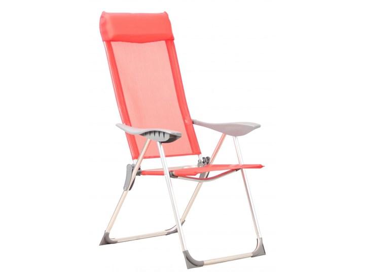 M Trend Krzesło Składane Czerwone Bezpłatny Odbiór