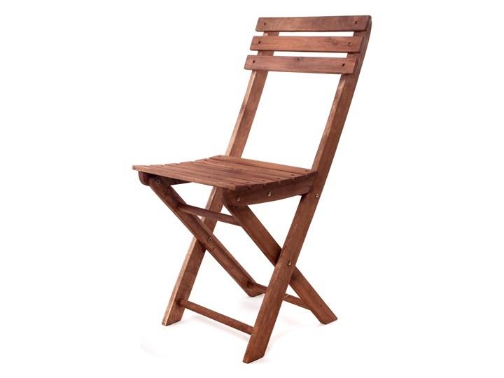 Happy Green Składane Krzesło Ogrodowe Akacja Bezpłatny