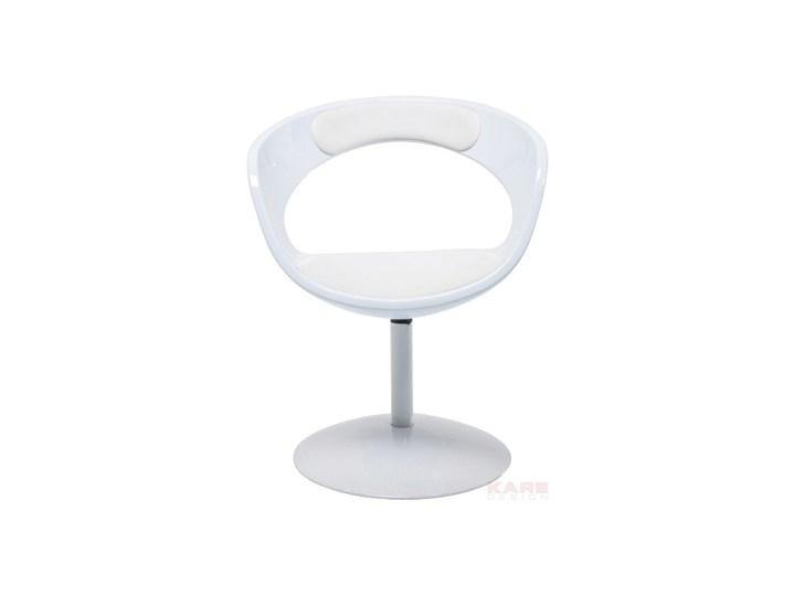 Fotel Obrotowy Retro Easy All White Z6073