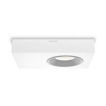 Philips Quine 31211/31/16 LAMPA natynkowa led LEDY biała płaska