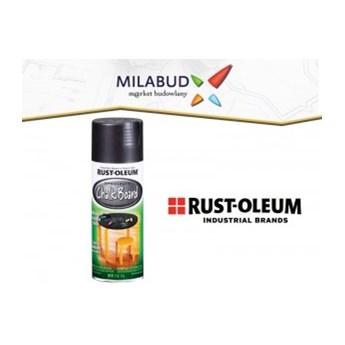 Rust-Oleum Chalkboard Black farba tablicowa czarna w sprayu 325ml