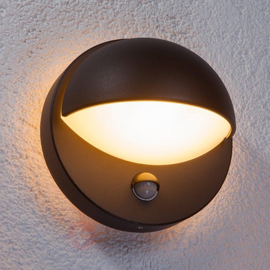 Energooszczędna ścienna Lampa Vida Czujnik Ruchu