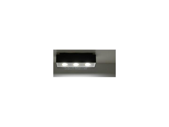Ilość źródeł światła 3 źródła Sollux Lampa Plafon MONO 3 czarny SL.0072 Plafony