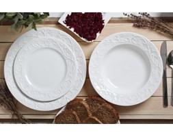Serwis obiadowy HEMINGWAY na 6 osób (18 el.) -- biały