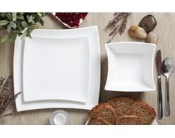 Serwis obiadowy WHITE na 6 osób (18 el.)