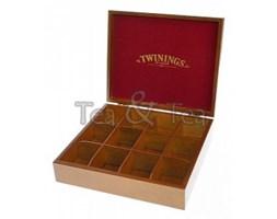 Skrzynka drewniana na herbatę 12 przegródek Twinings 523