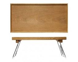 Stolik śniadaniowy drzewo bukowe seria Sagaform Oval Oak SF-5016119